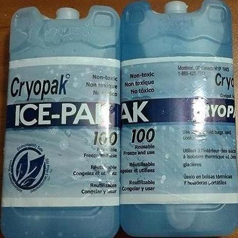 Amazon.com : Cryopak Ice-Pak 100 Reusable Ice Packs Sold As ...
