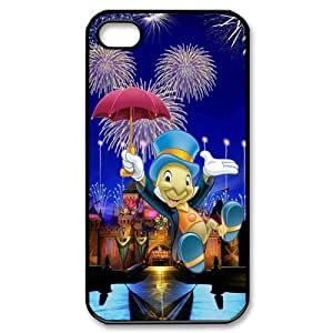 Custom Your Own Jiminy Cricket iPhone 4/4S Case , personalised Jiminy Cricket Iphone 4 Cover