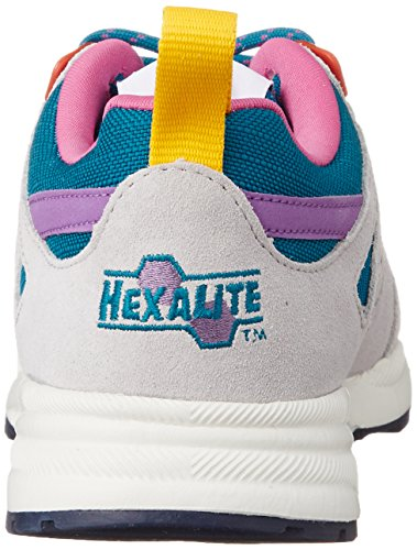 Reebok Ventilator So Damen Sneaker Weiß (Englsh Emerald/Steel/Pink/Amber/Navy/Chalk/Purple)