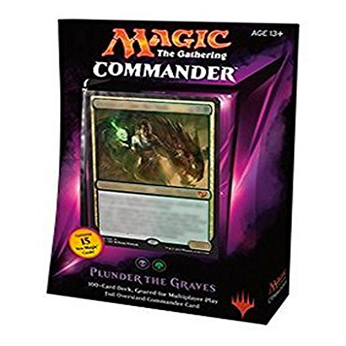 (MTG Commander 2015 Edition Magic the Gathering - Plunder the Graves Black Green Deck New Sealed)