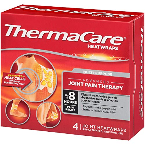 - Thermacare Joint Heat Wraps, 4 Count by ThermaCare
