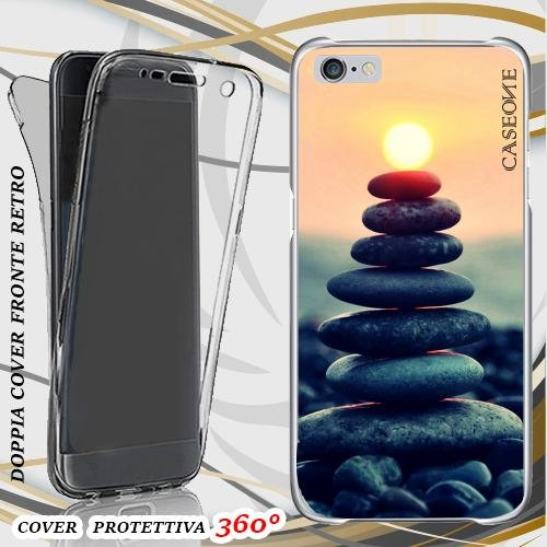 CUSTODIA COVER CASE SUMMER STONE PER IPHONE 6 PLUS FRONT BACK
