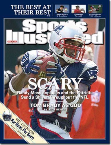 Randy Moss, New England Patriots (Sports Illustrated Magazine - September 2007) PDF