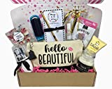 Complete Birthday Gift Basket Box for Her-Women, Mom, Aunt, Sister or Friend, Unique!