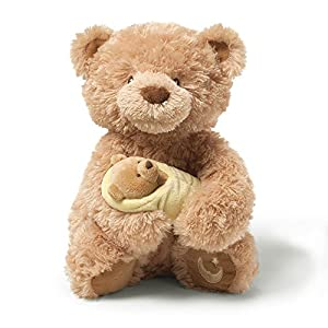 Gund Rock-A-Bye Baby Musical Teddy Bear - 51rCkTeOP0L - Gund Rock-A-Bye Baby Musical Teddy Bear