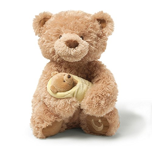 Gund Rock-A-Bye Baby Musical Teddy Bear - Baby Musical Teddy Bear