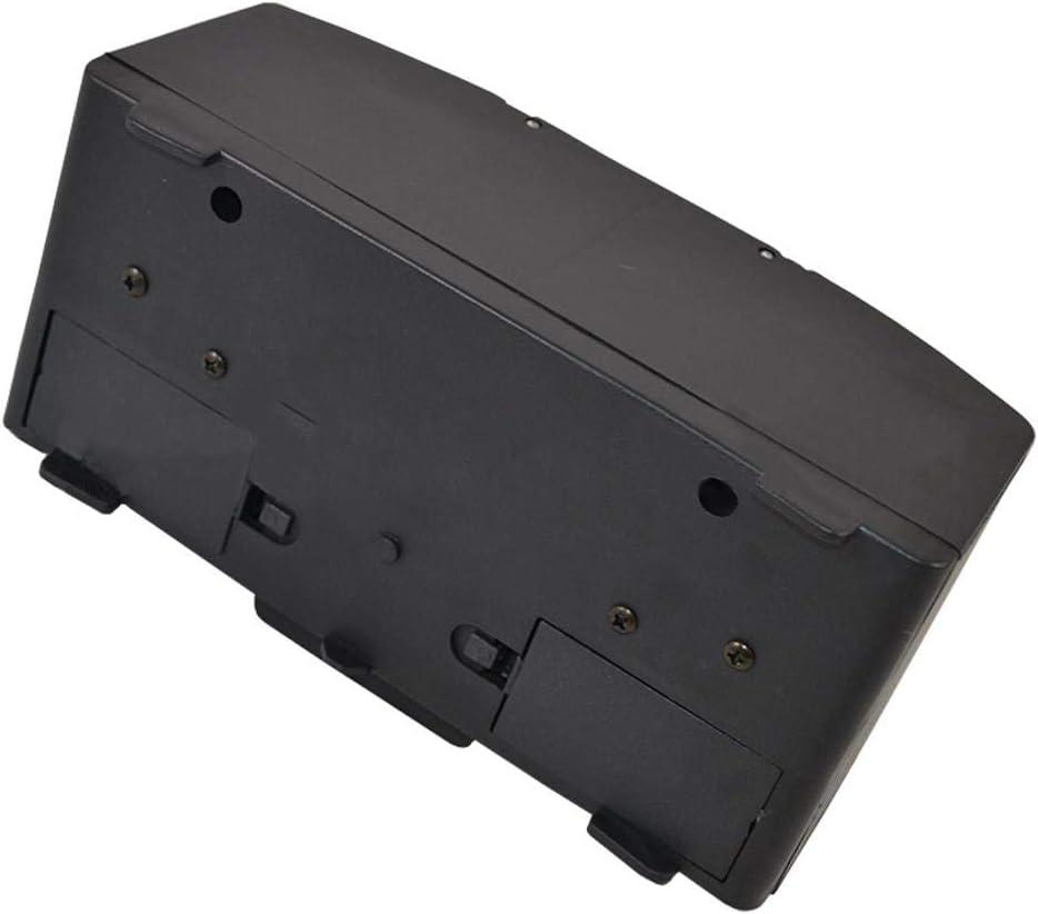 gouxia74534 Elektrischer Kartenmischmaschine Karten Mischmaschine 2 Decks als Kartenmischger/ät batteriebetrieben