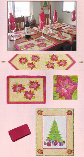 Poinsettia Christmas Pattern Cindy Walter product image