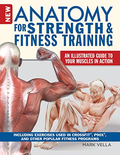 New Anatomy for Strength & Fitness Training: An Illustrated Guide to Your Muscles in Action Including Exercises Used in CrossFit(r), P90X(r), and Other Popular Fitness Programs (IMM Lifestyle Books)