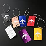 PIXNOR PIXNOR Metal Travel Luggage Tags Suitcase