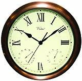 Poolmaster 52604 15'' Clock/Thermometer/ Hygrometer - Copper