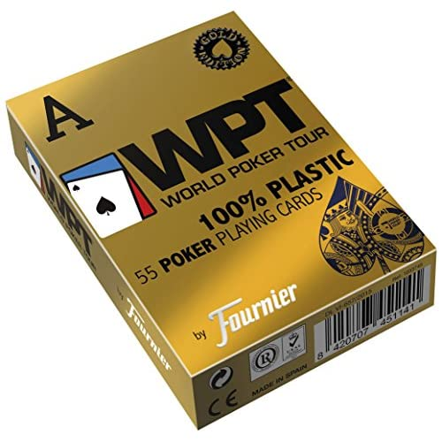 Bicycle 451141–WPT Jeu de cartes