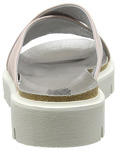 Sh Sommer Elfenbein Femme 160044dd Ivoire à Damen Fard Sandale Shoes SHOOT Leder Sandales Plateforme Ff5qnS