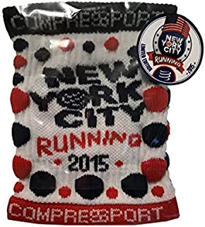Compressport Polsino Wristband New York City NYC Marathon 2015