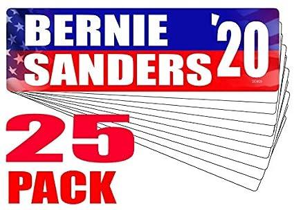 Bernie Sanders Sticker 2020 10 Pack
