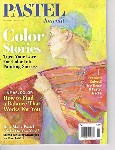 Pastel Journal October 2018 magazine (Color Stories)