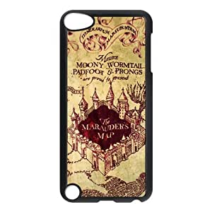 Awesome Magic Harry Potter Marauder's Map Hard Case Cover for Ipod Touch 5 by supermalls