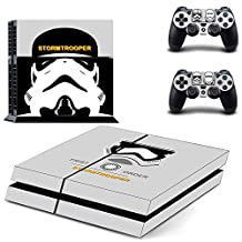 STAR WARS ALL EPISODES, ALL HEROES Exclusive PS4 Sticker Skin for PlayStation 4 (StormTrooper Classic)