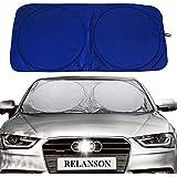 "Relanson Jumbo Sun Shade for Car windshield Keeps Vehicle Cool-UV Ray Protector Sunshade(Standard/59"" x 31.5"")"
