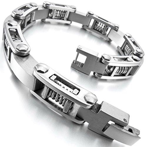 INBLUE Stainless Bracelet Silver Openwork