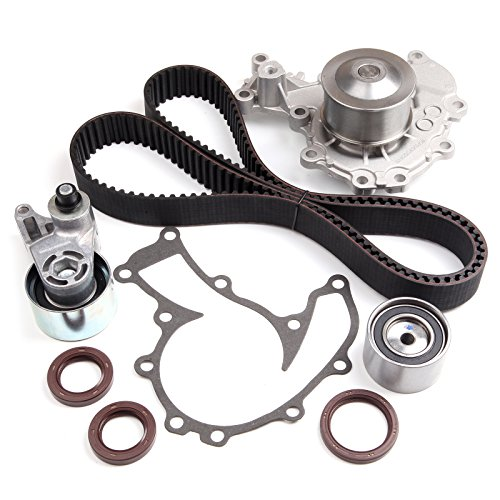 ECCPP Timing Belt Water Pump Kit for 1998-2003 Isuzu Acura Honda 3.2L DOHC V6 24V6VD1 6VE1