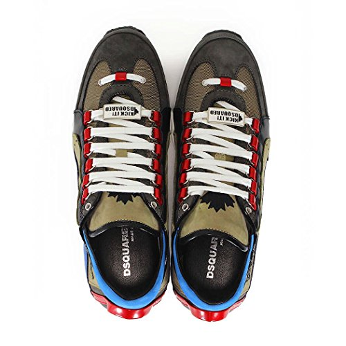 DSQUARED2 551 TURTLEDOVE SNEAKERS