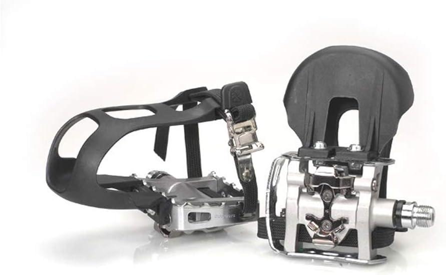 Pedal mixto SPD PD-M324 plata,9/16