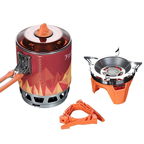Fire Maple Personal Outdoor Hiking Camping Equipment Oven Portable Gas Stove Burner 2200W 0.8L 600g