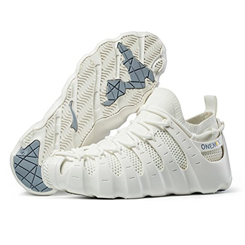 Shoes Walking Blue Sneakers Running Multifunction Beach Rome Outdoor Sandals White Like Women's Sock a5xqUzwW7