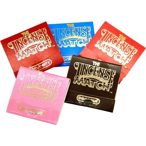 Incense Matches (Box of 50 Assorted) by New Age Source