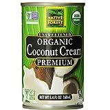 Native Forest Organic Premium Coconut Cream, Unsweetened, 5.4 oz