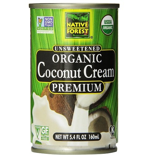 Native Forest Organic Premium Coconut Cream, Unsweetened, 5.4 oz by Native Forest