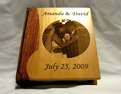 Personalized Photo Album- Engraved Wedding Picture Large