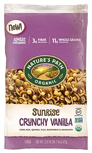 Nature's Path Organic, Crunchy Vanilla Sunrise, 23.8 Ounce