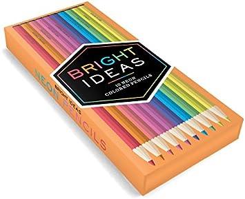 Bright Ideas 10 Metallic Colored Pencils