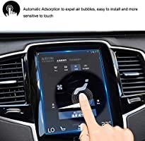 Scratch-Resistant Ultra HD in-Dash Clear Tempered Glass Screen 9H Hardness 0.33mm Thickness 9in HiMoliwa 2017-2019 Volvo Car Navigation Touch Screen Protector for V90 XC40 XC60 XC90 S90 9 Inch