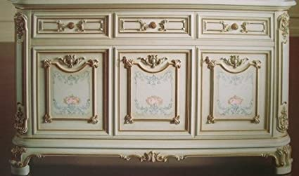 LouisXV Buffet Barocco Veneziano Barocco vp9966: Amazon.it: Casa e ...