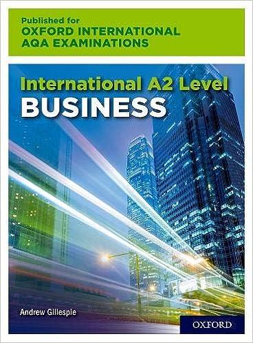 International A2 Level Business for Oxford International AQA Examination - Original PDF