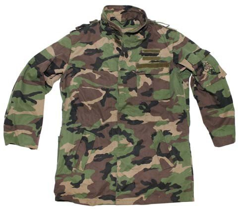 Without SK Men's Used Fuchs Lining M97 Fieldparka Camo Max 06wTUnqx
