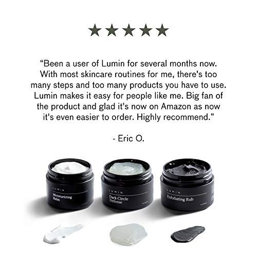Correction Trio Collection for Men: 3 Piece Kit to Help with Tired Eyes, Dark Spots, Uneven, and Dull Skin - Includes… 3