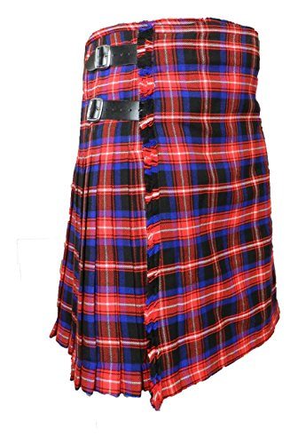Men's Scottish Kilt American Legacy Tartan 16 oz - 8 yard