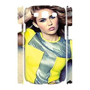 YUAHS(TM) Custom 3D Cover Case for Samsung Galaxy S3 I9300 with Miley Cyrus YAS118060