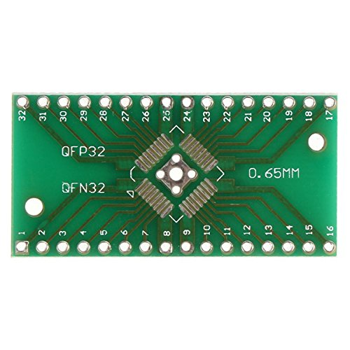 QFN32 QFP32 Converter SMD To DIP Adapter PCB Universal Board