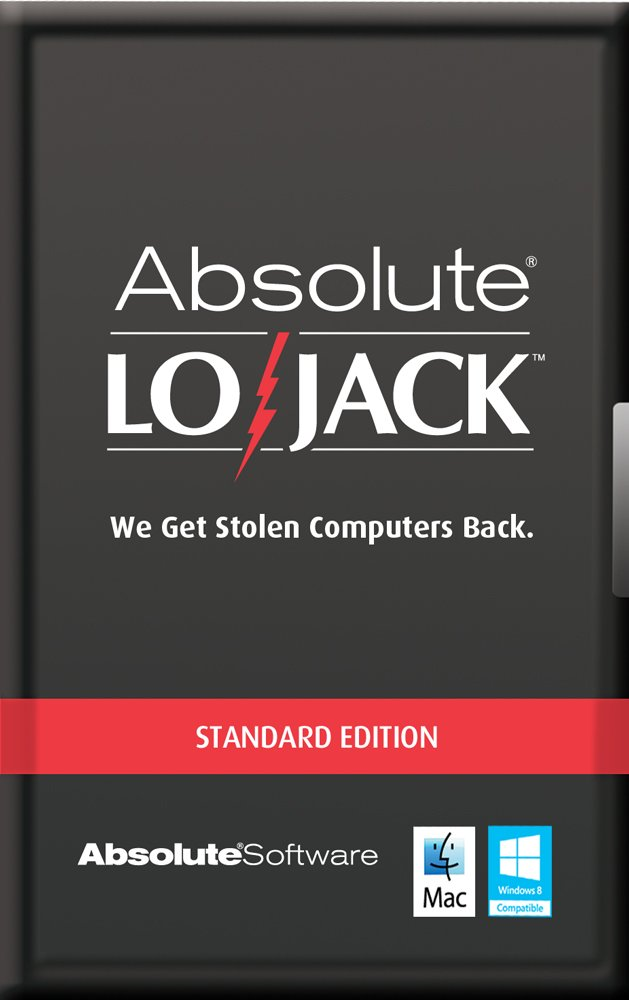 Computrace LoJack for Laptops Standard 1 Year [Online Code] by ABSOLUTE SOFTWARE, INC.