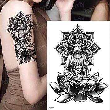 HXMAN 3 Unids Impermeable Tatuajes Temporales Manga Tatuaje Cabeza ...