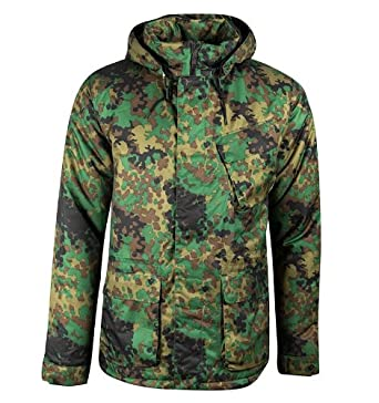 de392ef6480a Nike Air Thermal Parka Camouflage Winter Jacket (Large)  Amazon.co ...
