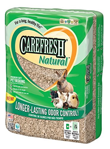 Carefresh Natural Premium Soft Pet Bedding 60- Liter