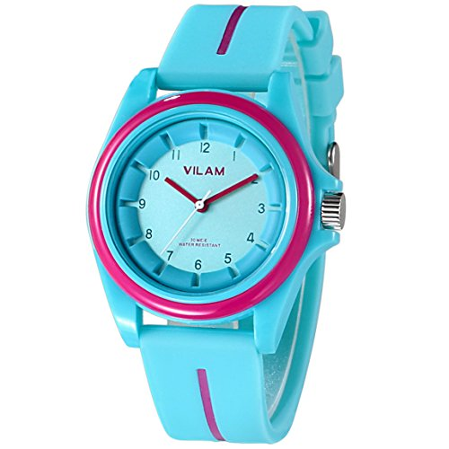 VILAM Sports Fashion Simple Candy Color Casual Quartz Watch Men Women Watches Silicone Sport Wristwatches girls boy Luxury Brand Clock A-15015 Wristwatches - Brands Mens Luxury