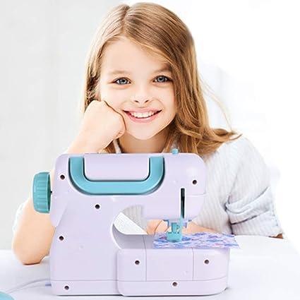 Sew Cool Sewing Studio - Juguetes para el Aprendizaje,Máquina de Coser Eléctrica Estudio Coser Inteligencia Actividades Juguete para Niñas Niños ...