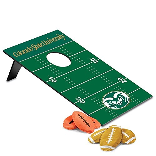 NCAA Colorado State Rams Throw Football Digital Print Bean Bag, One Size, Other by PICNIC TIME